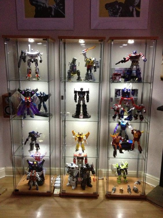 Action Figure Display Case