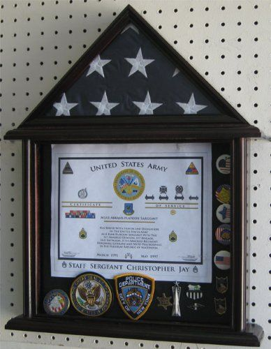DIY Flag Display Case