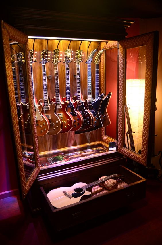 Guitar Display Case DIY