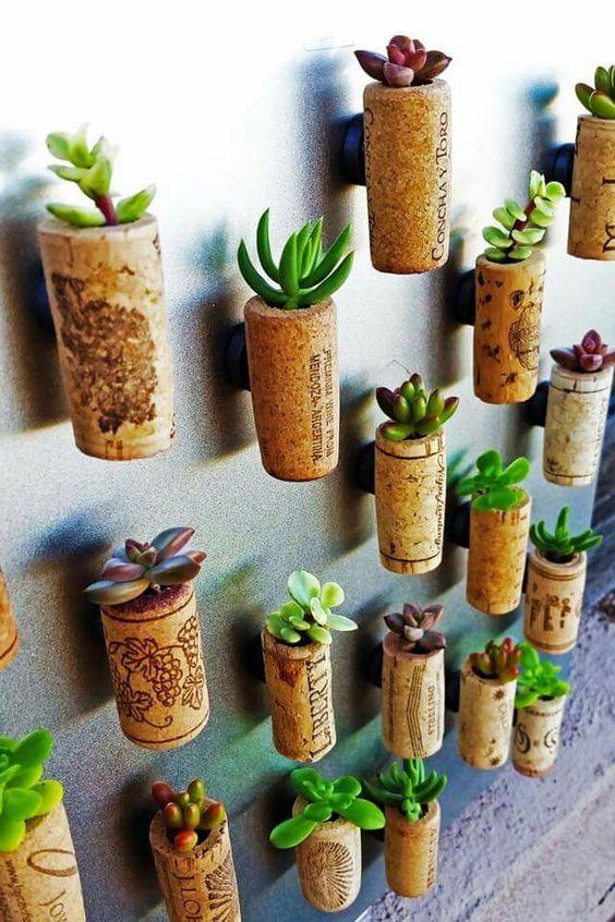 Galvanized Wall Planter