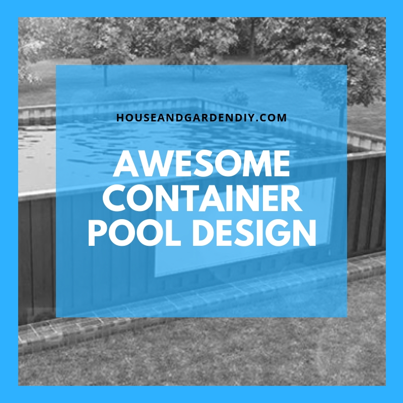 Awesome Container Pool Design