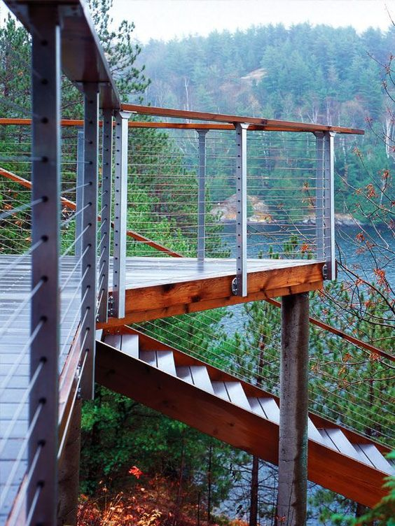Outdoor Stair Railings