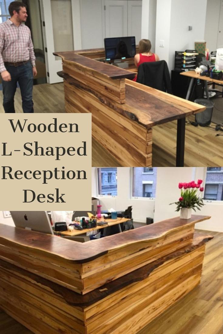 L Shaped Reception Desk