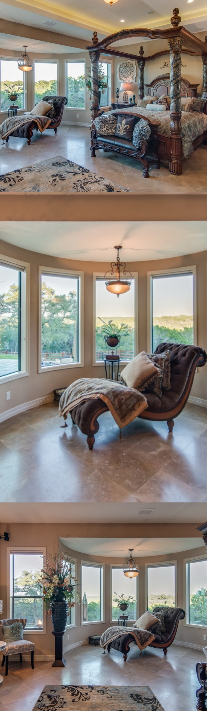 Bay Window Bedroom