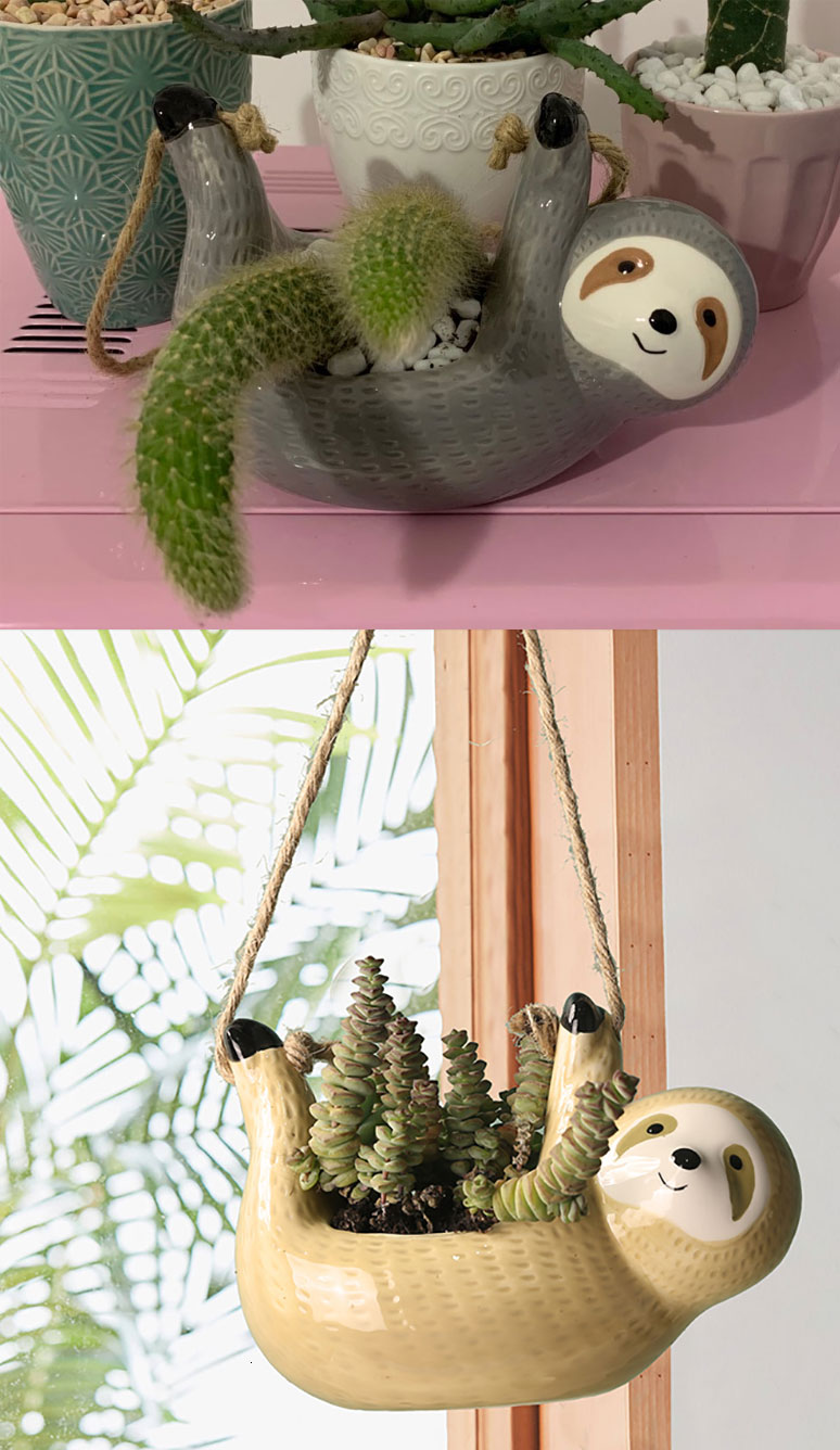 cute hanging planter