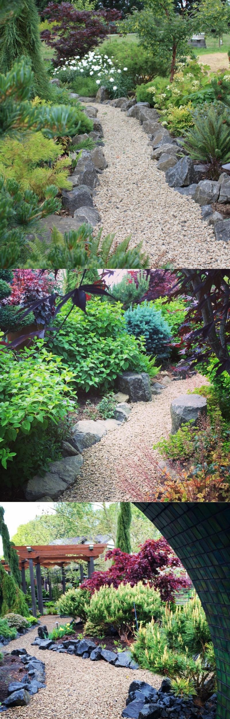 contemporary gardens photos