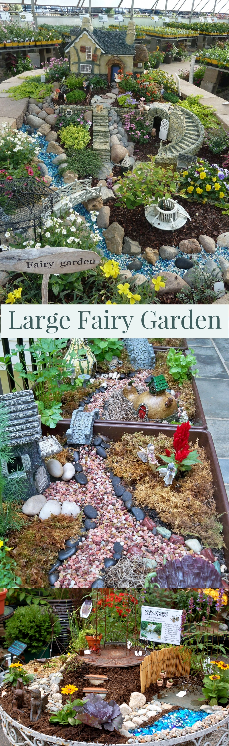 pictures of fairy gardens