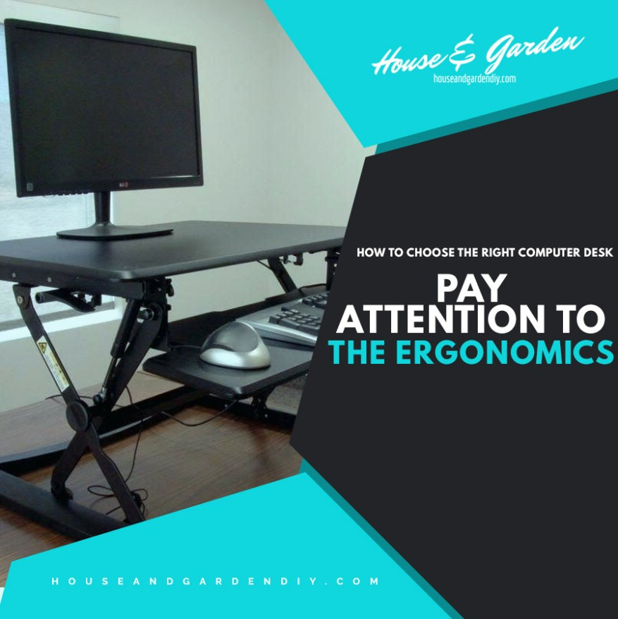 contemporary desks for small spaces