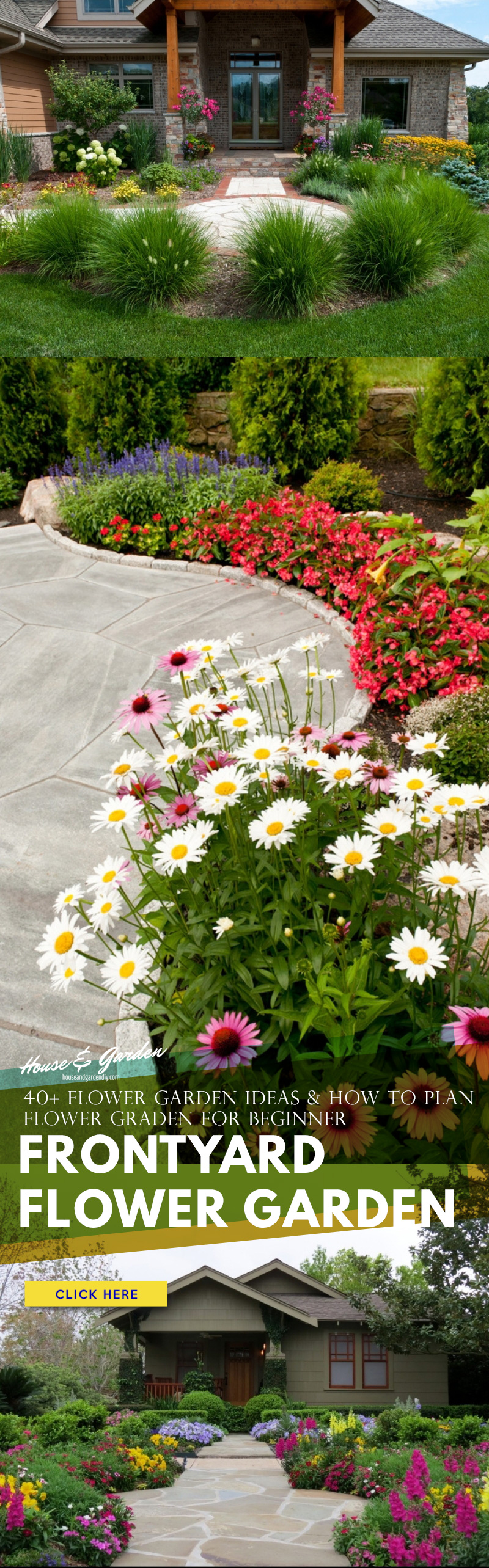 pictures of flower gardens