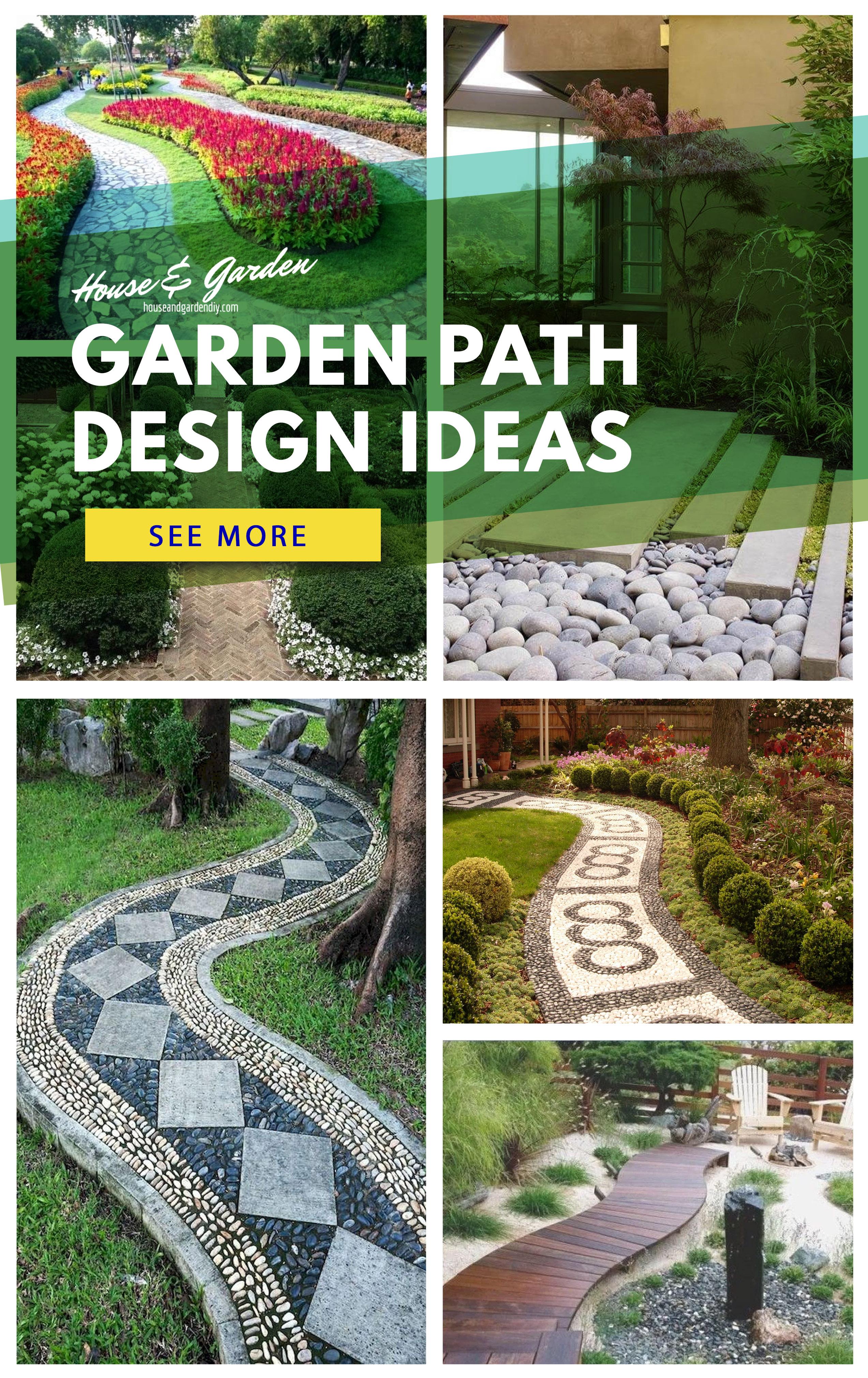 Garden Path Ideas | House & Garden DIY on