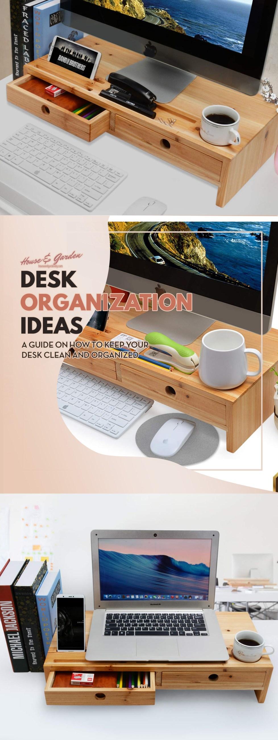 diy office organization