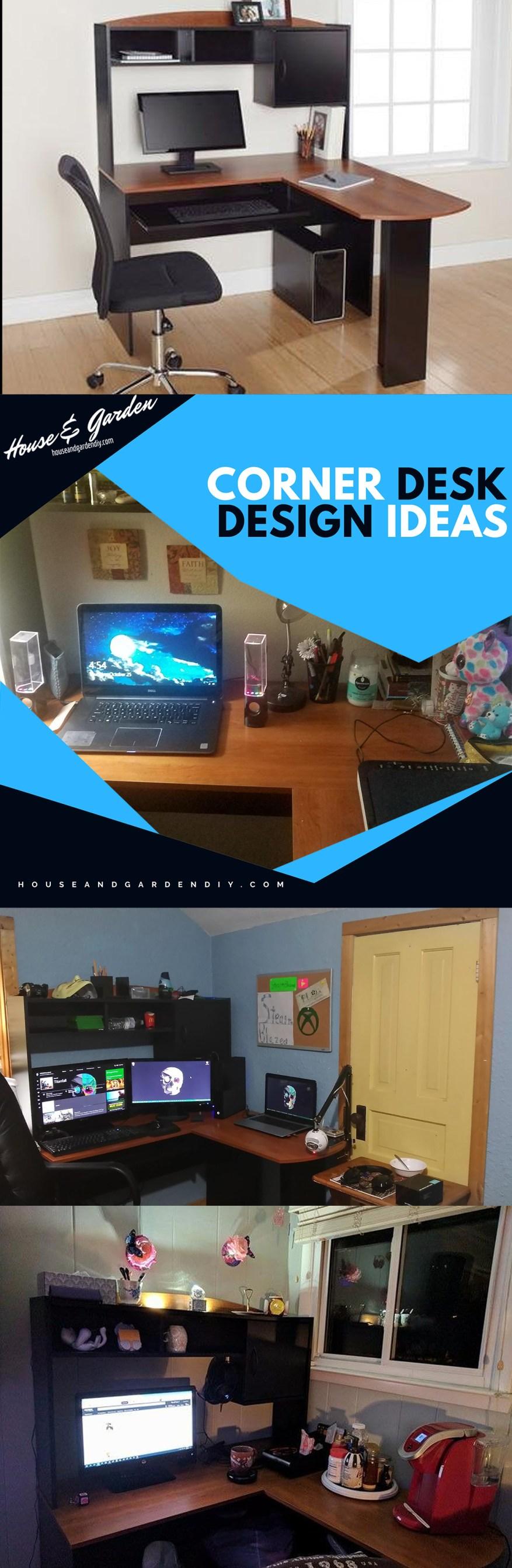 pinterest corner desk