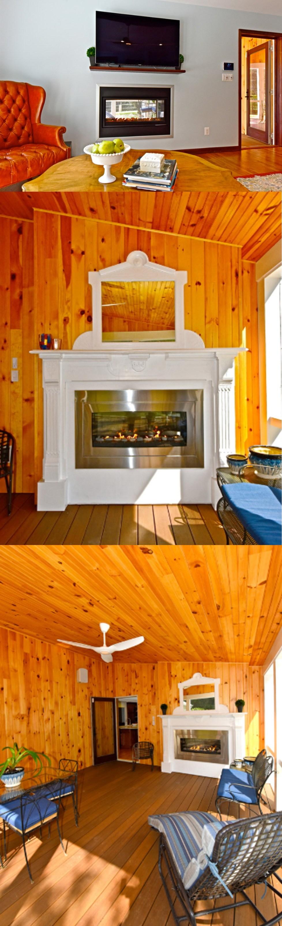 fireplace refacing kit