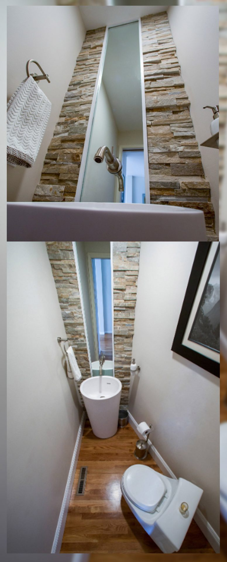 small bathroom remodel modern