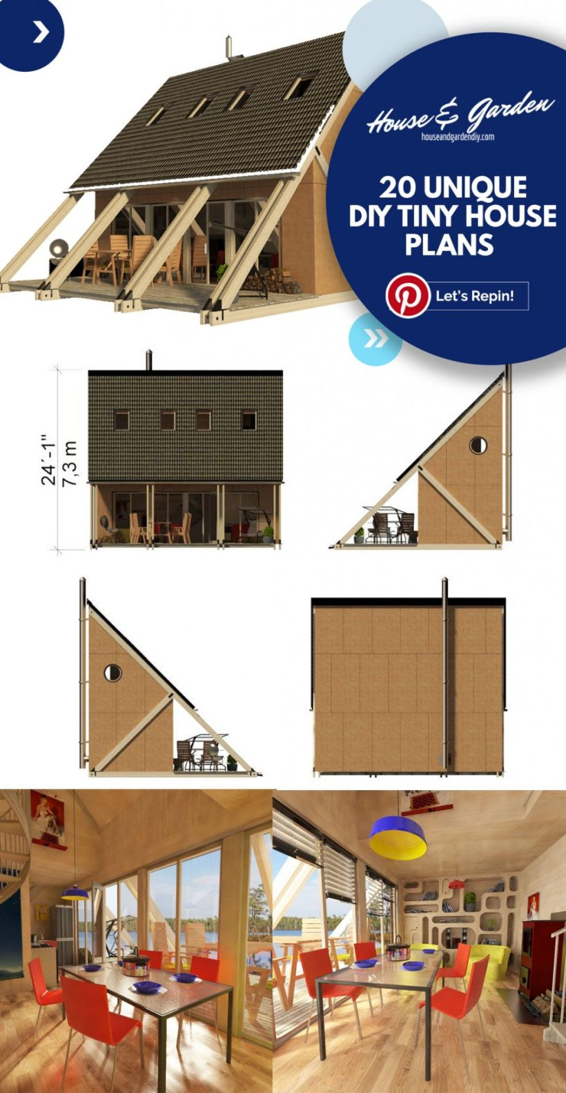10x12 planos de casas pequeñas