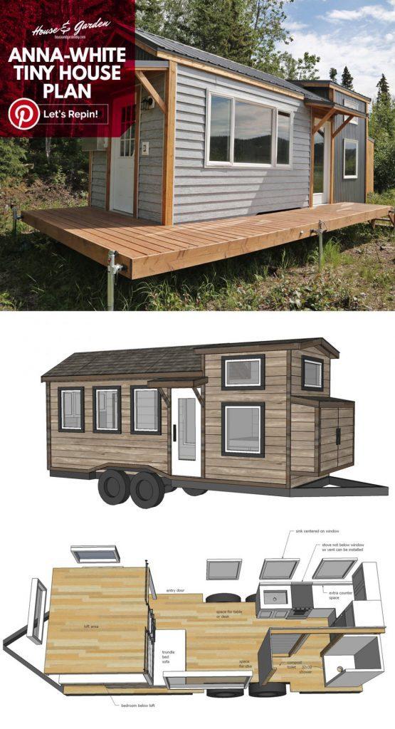 tiny house plans with loft