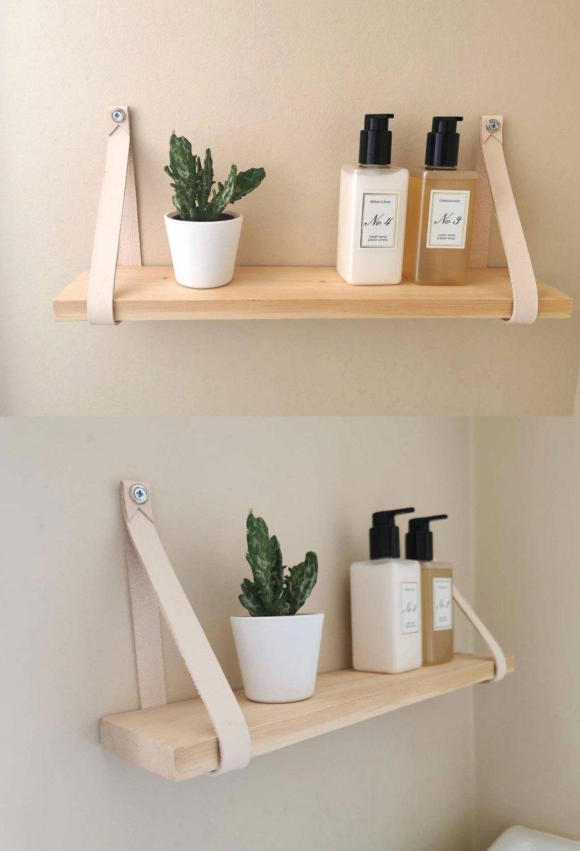 bedroom shelf decor