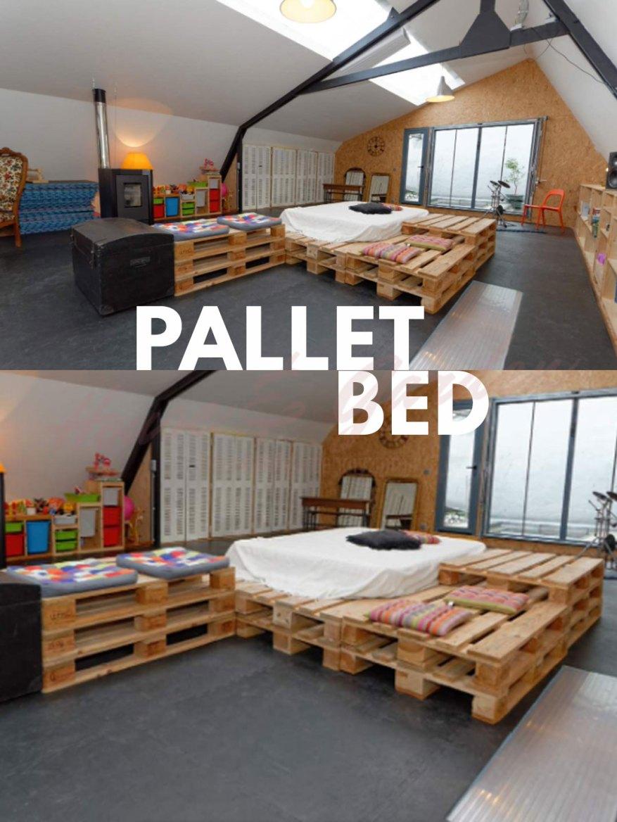 Pallet Bedroom Ideas on Pallet Bedroom Design  id=32999