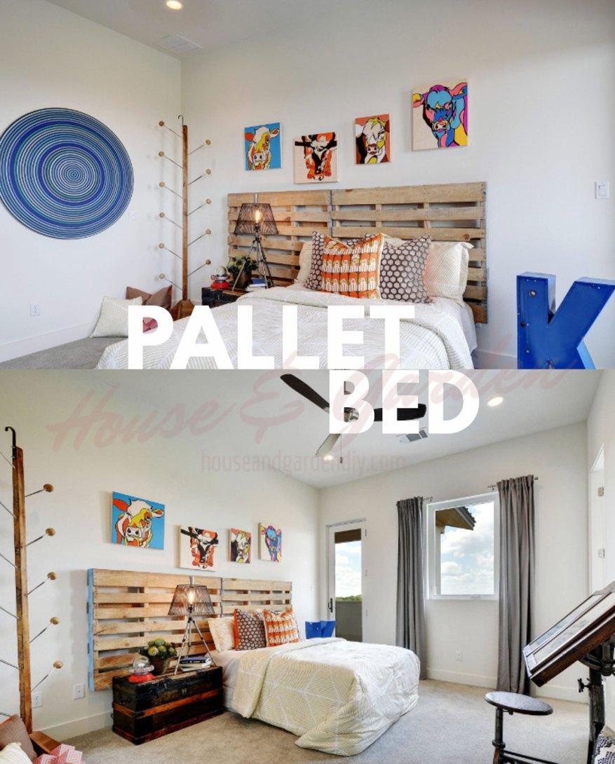 Pallet Bedroom Ideas on Bedroom Pallet Ideas  id=82806