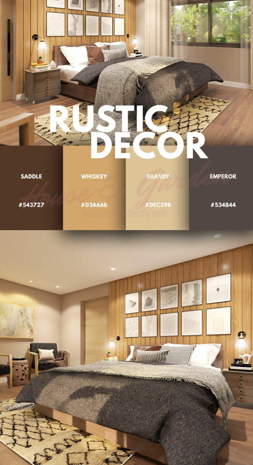 ideas de dormitorios modernos rústicos