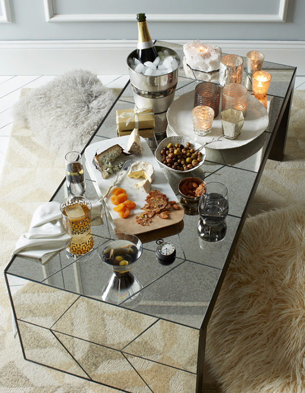 4 mirrored coffee tables west elm