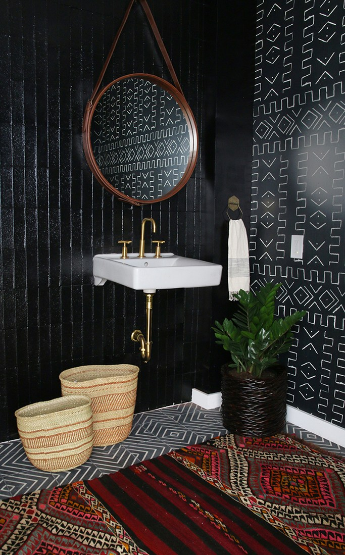 vertical tile is the new kitchen