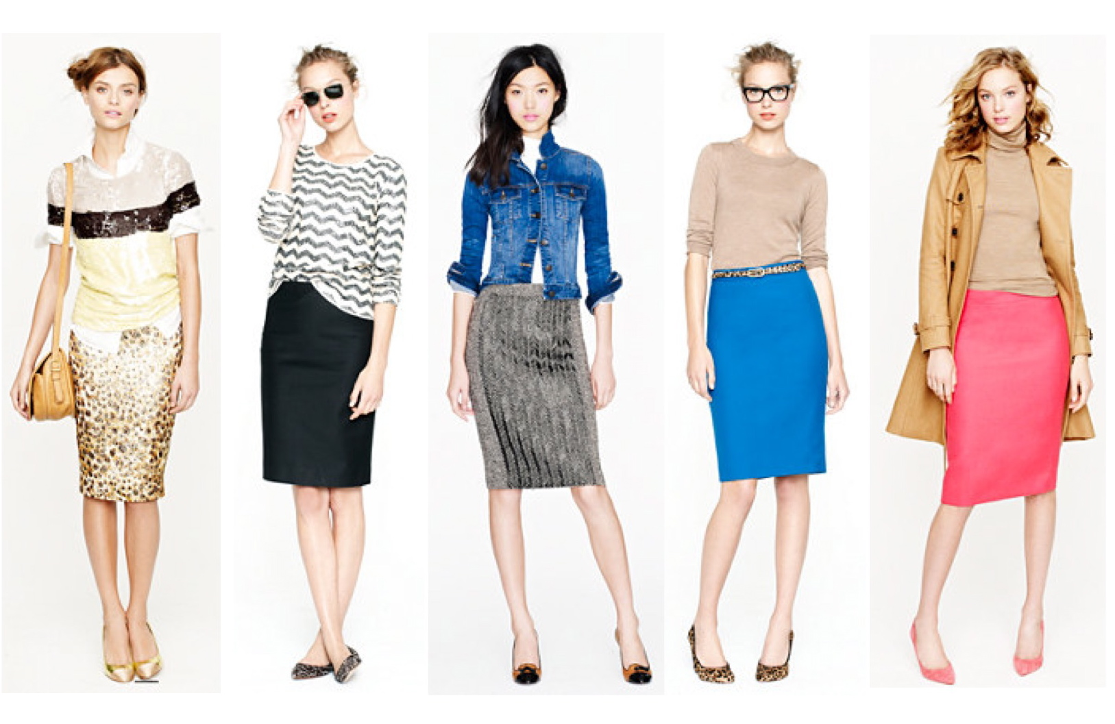 """Sharp & Classic Style: The """"Pencil Skirt"""""""