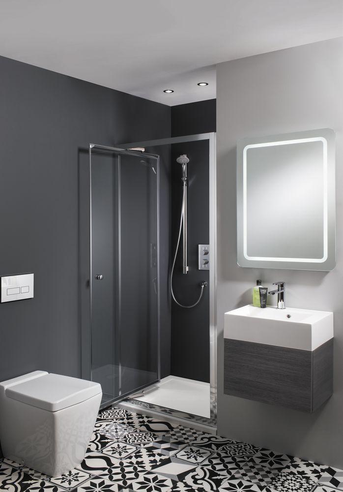 Bathrooms: Stylish space-saving ideas on Space Bathroom  id=69084