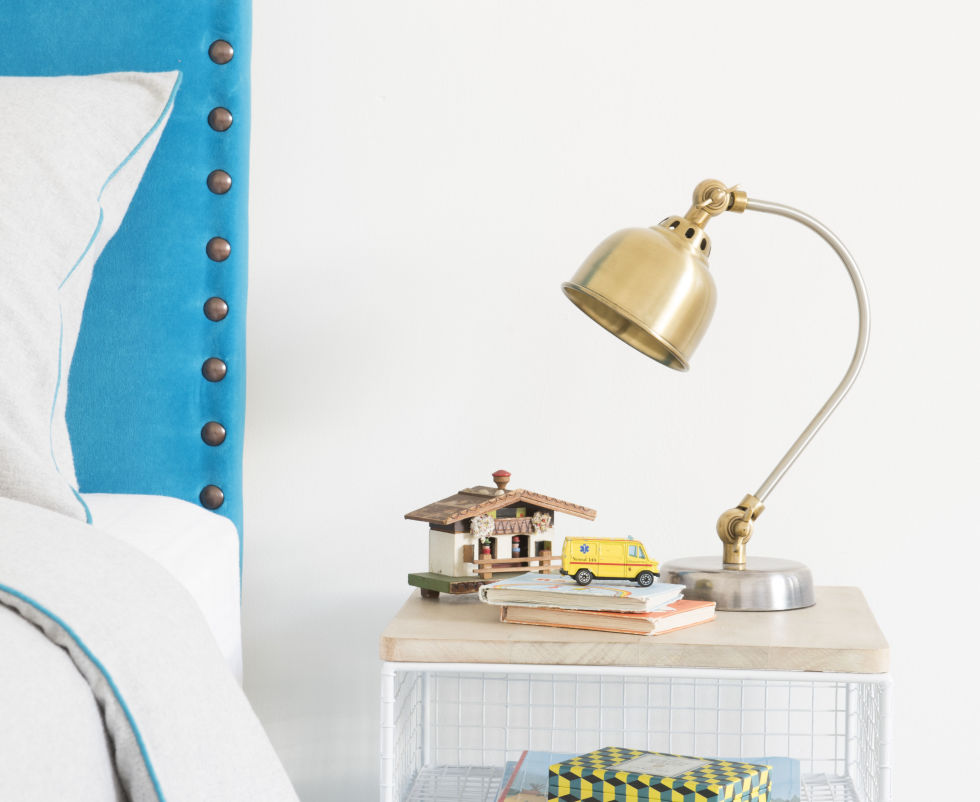 John Lewis' latest retail report says2016's fondness for metallic finishes on light fittings, tech gadgets and other home accessories will continue to shine in 2017 but, the metal of choice will be brass, replacingtoday's preference for rose-tinted copper. Mini Gaston lamp in Brass, £55, Loaf