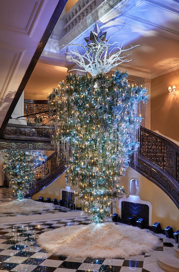 Claridges Christmas Tree 2017 Is Inspired By Karl