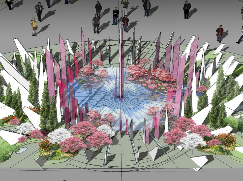 Wuhan Water Garden - Chelsea Flower Show 2018
