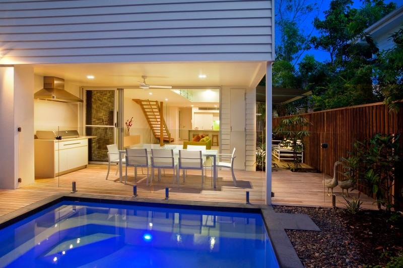 Beautiful Duplex House Using Simple Design HouseBeauty
