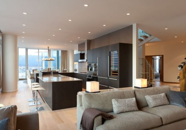 Pretty Modern Penthouses For Elevated Standard Living Style HouseBeauty