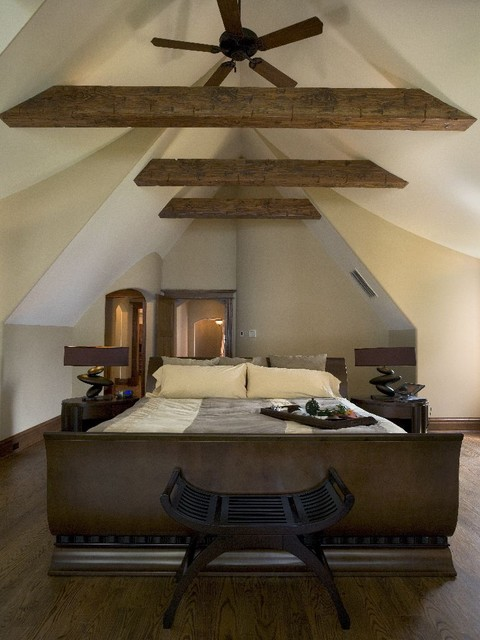Bright Attic Bedroom Ideas With Glowing Interior Slanted Ceiling HouseBeauty