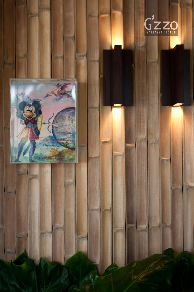 Impeccable Bamboo Wall In Natural Terrace Decoration