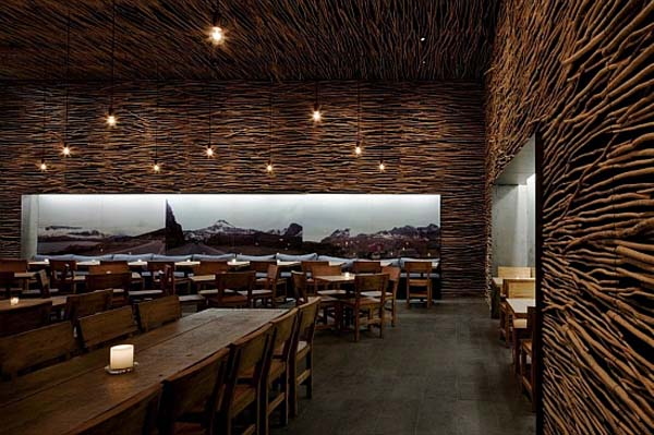 Amazing Wood Restaurant Decoration With Minimalist