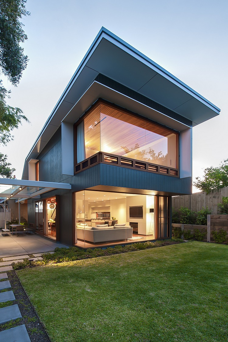Contemporary Glass and Wood House Design; House for ... on Modern Glass House Design  id=19820