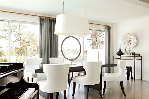 Fundamental Dining Room Concept: Placing Table In The