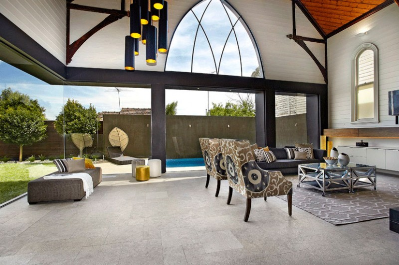 Luxurious Church Conversion Idea In Melbourne HouseBeauty