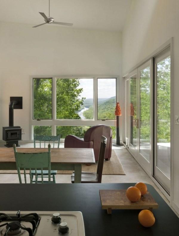 Simple Modern Wood House in Comfortable Atmosphere