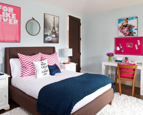 Chic Teenage Girls Bedrooms Designs Combining Feminine ... on Bed Rooms For Girls Teenagers  id=86916