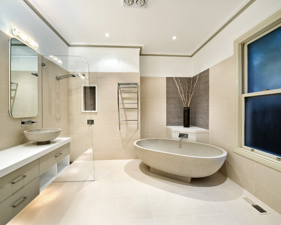 Exquisite Corner Bathtub Designs Symbolizing Bathroom