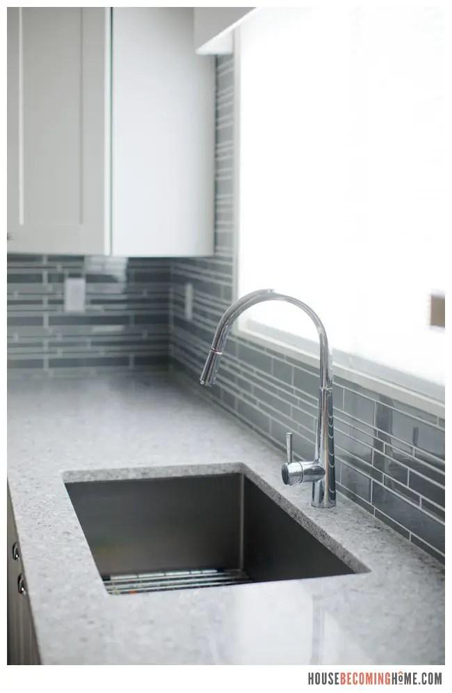 DIY Kitchen Reno Large Single Bowl Sink