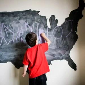 DIY US Chalkboard