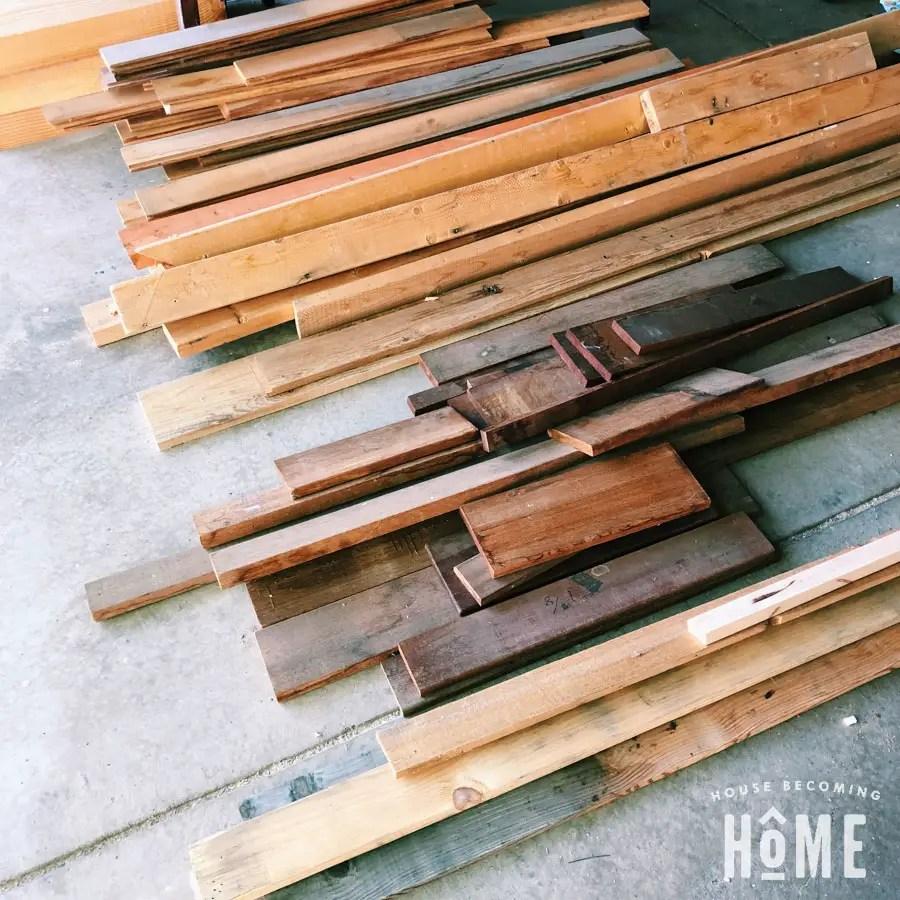 scrap wood challenge simple modern diy clock house becoming home