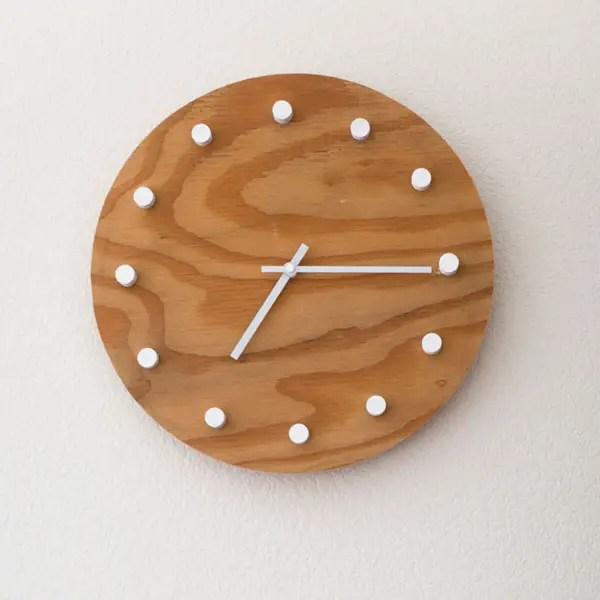 Scrap Wood Challenge Simple Modern Diy Clock House