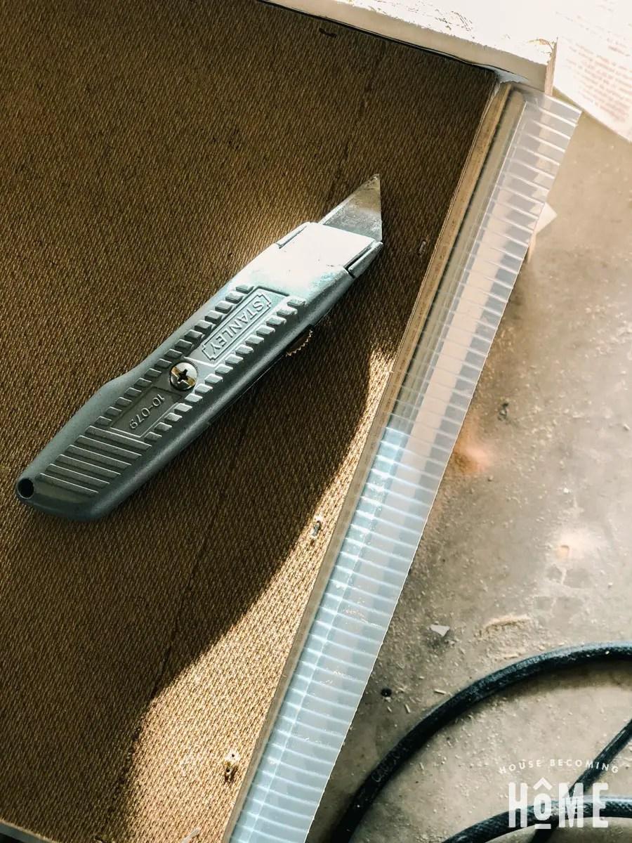 trim edges