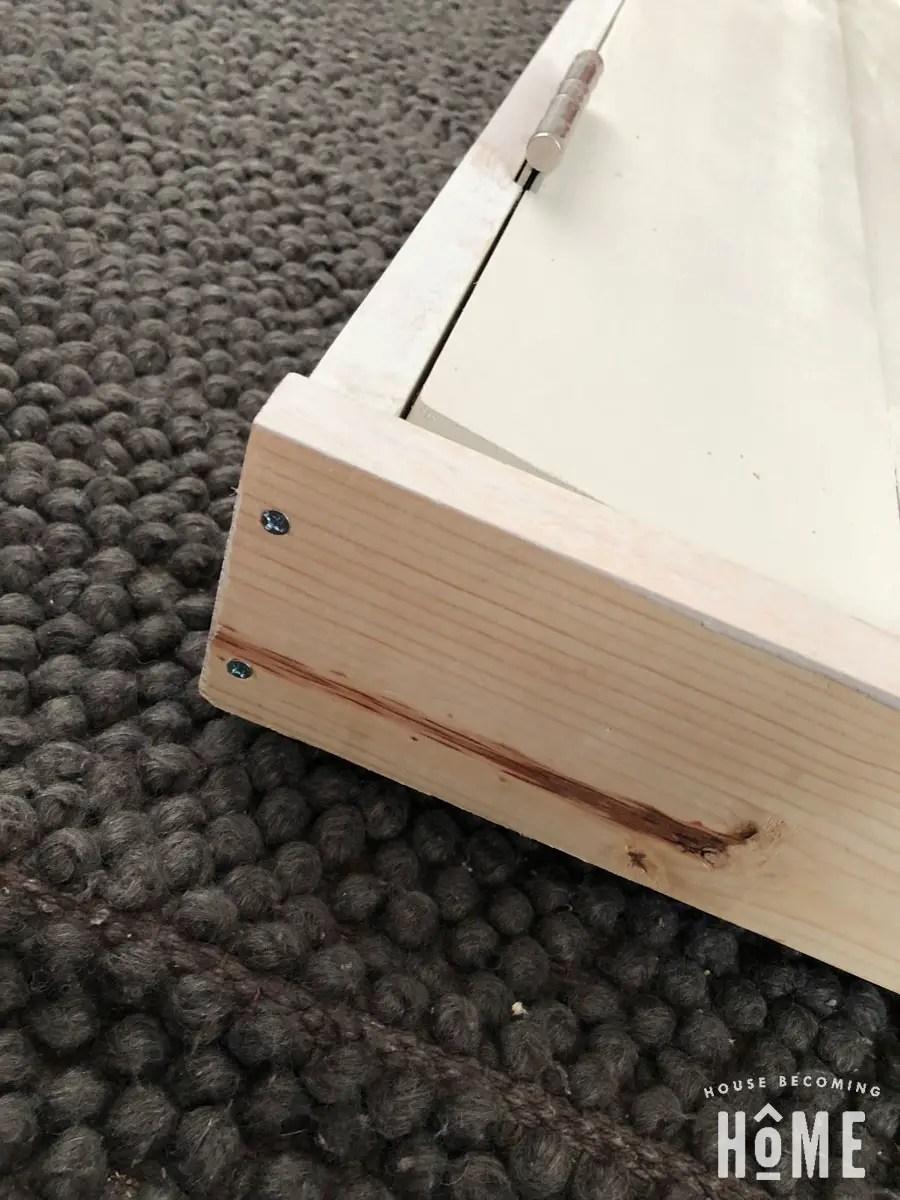 DIY Simple Door Frame