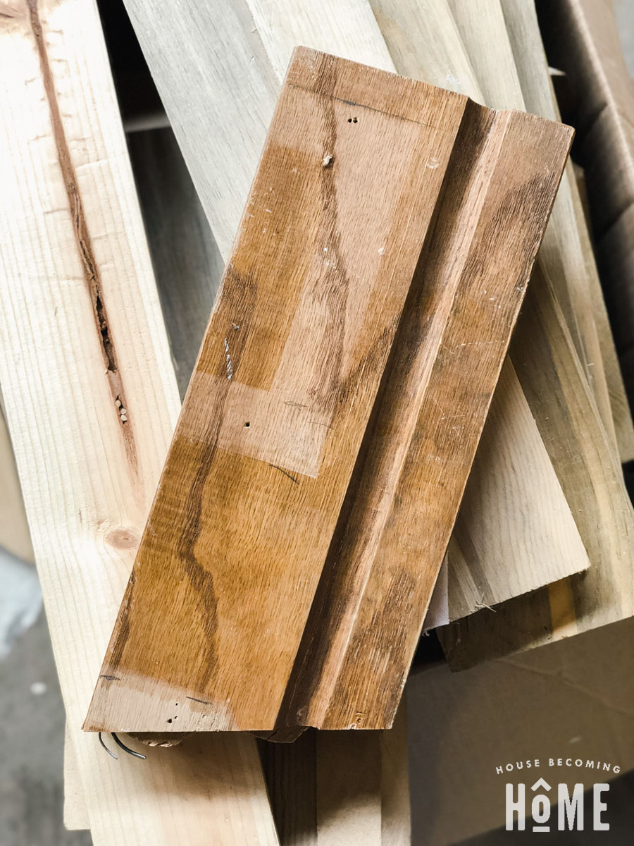 Oak Scrap for DIY light