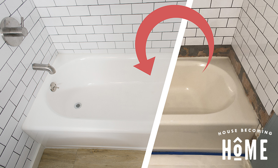 bathtub rustoleum tub and tile